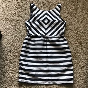 Dolce Vita Dresses - Dolce Vita Black and White Striped Dress